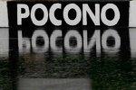 Pocono stand am Sonntag gleich zweimal unter Wasser