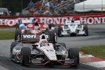 Will Power (Penske) führte die meisten Runden im Rennen