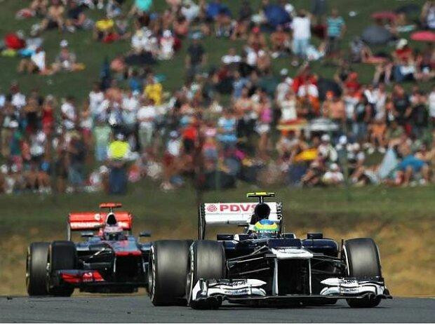 Bruno Senna, Jenson Button