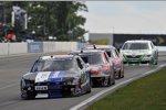 Race Action in Watkins Glen mit Ricky Stenhouse (Roush) an der Spitze einer Gruppe