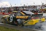 Burnout von Sieger Marcos Ambrose (Petty)
