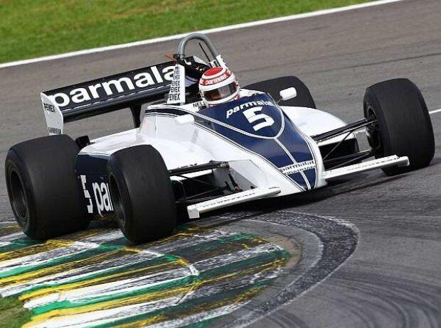 Nelson Piquet im Brabham-Cosworth BT49 von 1981