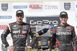 Das erfolgreiche Penske-Duo Ryan Briscoe und Will Power