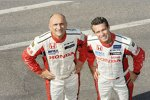 Gabriele Tarquini (Honda-JAS) und Tiago Monteiro (Honda-JAS)