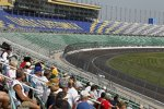 Testfahrten auf dem neu konfigurierten Kansas Speedway