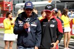 Jean-Eric Vergne (Toro Rosso) und Charles Pic (Marussia)