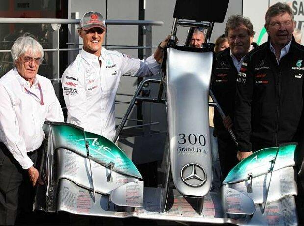 Feierlichkeiten anlässlich Michael Schumachers Jubiläum