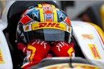 Ryan Hunter-Reay (Andretti) kann sein Glück nicht fassen