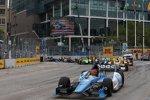 Race Action in Baltimore mit Simon Pagenaud (Sam Schmidt) an der Spitze