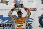 Ryan Hunter-Reay klopft nach seinem Sieg in Baltimore an die Tür zu seinem ersten IndyCar-Titel