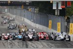 Start zum Baltimore Grand Prix mit Will Power (Penske) an der Spitze