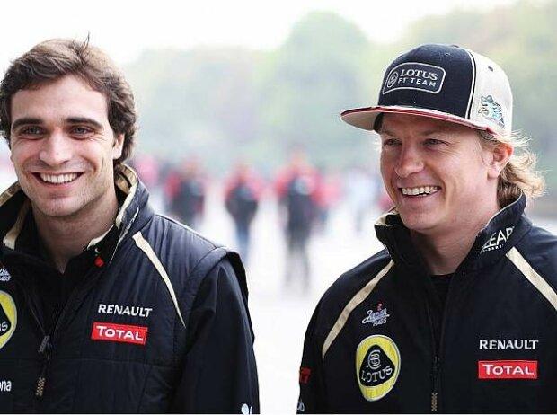 Jerome D'Ambrosio, Kimi Räikkönen