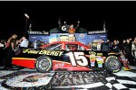Clint Bowyer in der Victory Lane
