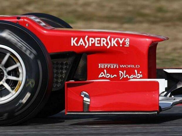 Stufige Nase des Ferrari F2012