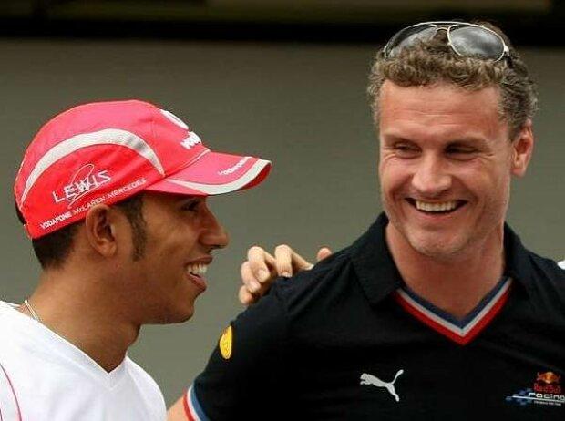 David Coulthard, Lewis Hamilton