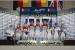 Das Podium in Manama