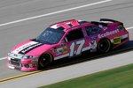 Der Roush-Ford von Matt Kenseth setzt ein Zeichen gegen den Brustkrebs