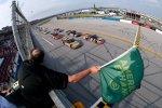 Start zum Truck-Rennen mit Ty Dillon und Jason White an der Spitze