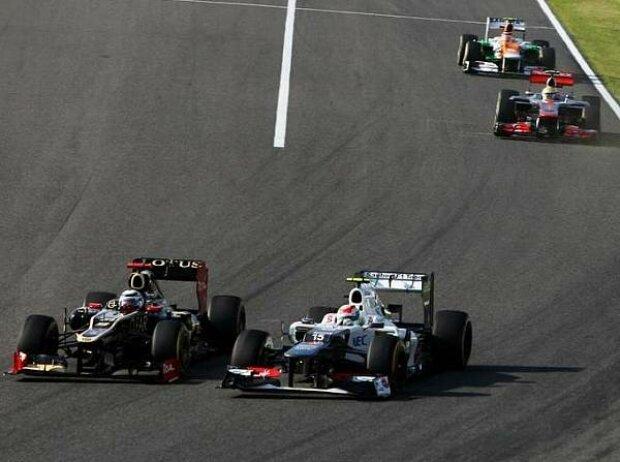 Kimi Räikkönen, Sergio Perez
