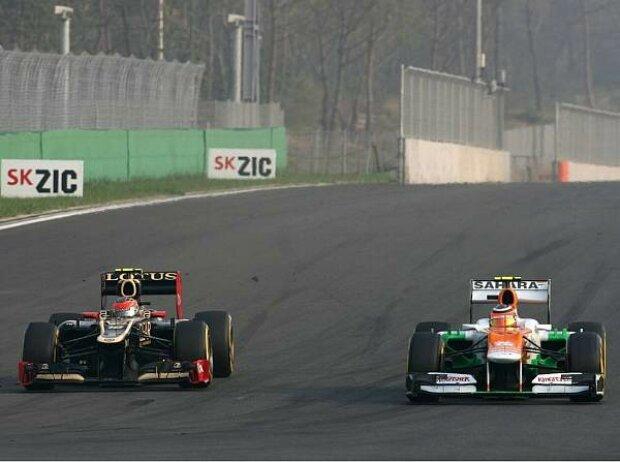 Romain Grosjean und Nico Hülkenberg