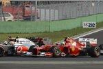 Lewis Hamilton und und Felipe Massa