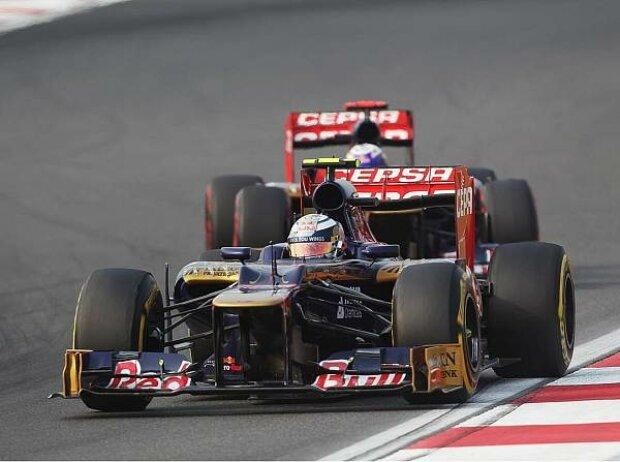 Daniel Ricciardo und Jean-Eric Vergne