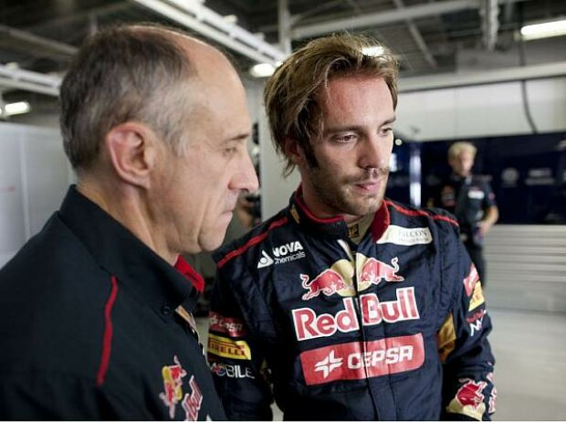 Franz Tost und Jean-Eric Vergne