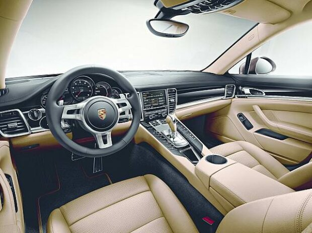 Porsche Panamera Platinum Edition Innenraum