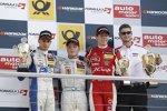 Pascal Wehrlein, Felix Rosenqvist und Alex Lynn