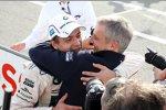 Augusto Farfus (RBM-BMW) und Jens Marquardt (BMW Motorsport Direktor)