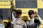 Bruno Spengler (Schnitzer-BMW) und Augusto Farfus (RBM-BMW)