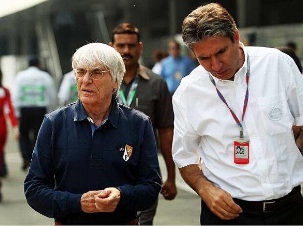Bernie Ecclestone und Pasquale Lattuneddu