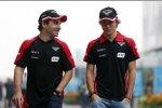 Timo Glock und und Charles Pic (Marussia)