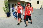 Fernando Alonso (Ferrari) und Felipe Massa (Ferrari)