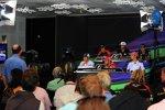 Donnerstags-Pressekonferenz mit Charles Pic (Marussia), Daniel Ricciardo (Toro Rosso), Witali Petrow (Caterham), Kamui Kobayashi (Sauber), Felipe Massa (Ferrari) und Jenson Button (McLaren)