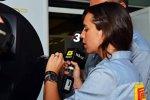 TV-Reporterin Laia Ferrer