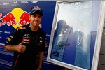 Sebastian Vettel (Red Bull) mit einer Pepe-Jeans-Limited-Edition