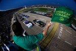 Kyle Busch und Elliott Sadler: Start zum Nationwide-Rennen von Texas
