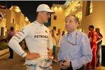 Michael Schumacher (Mercedes) und Jean Todt
