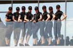 Grid Girls in Abu Dhabi