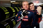 Daniel Ricciardo (Toro Rosso) bereitet seinem Team Freude