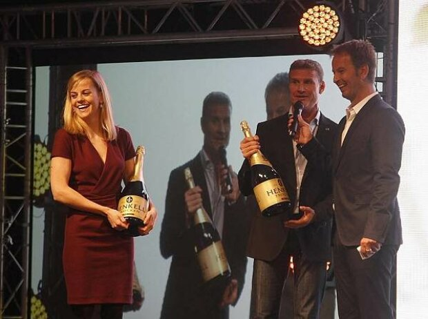 Susie Wolff, David Coulthard