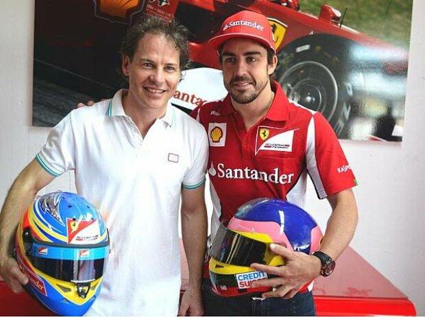 Fernando Alonso, Jacques Villeneuve
