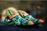 Rennfahrer-Schuhe von Nico Hülkenberg (Force India)
