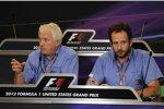 Charlie Whiting (Technischer Delegierter der FIA) und Matteo Bonciani (Pressesprecher der FIA)