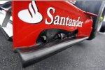 Verspielt bis ins kleinste Detail: Neuer Frontflügel am Ferrari