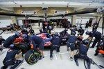 Boxenstopp-Übungen bei Toro Rosso