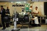 Arbeiten in der Mercedes-Box