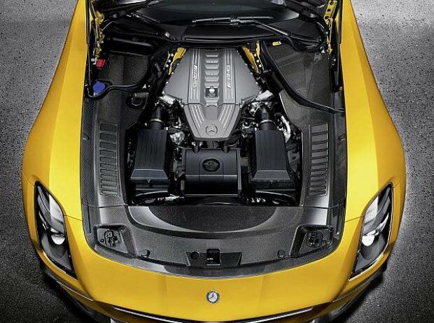 Mercedes-Benz SLS AMG Coupé Black Series Motor