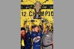 Brad Keselowski mit dem Sprint Cup
